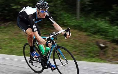 Bradley Wiggins cycling