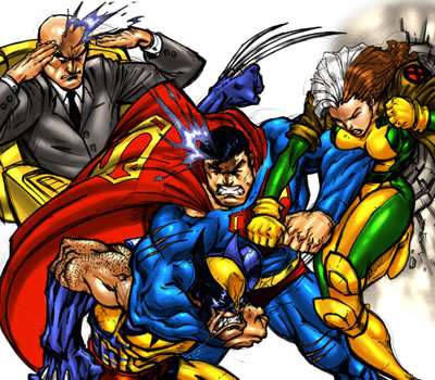 Even Super Heroes need advice about holding constrictive meetings