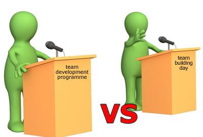 Team Building vs Team Development