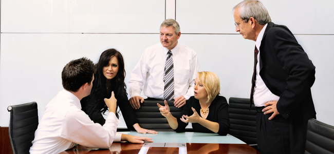 Resolving Conflict in Work Teams image