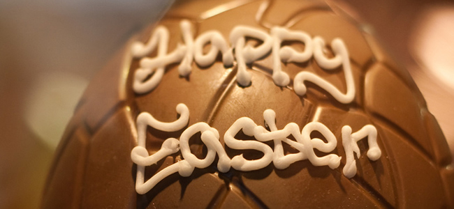 Easter Wishes from Chocolate Team Building Team