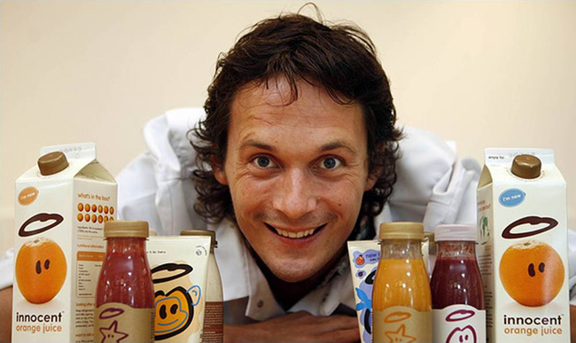 Richard Reed from Be Your Own Boss and innocent drinks